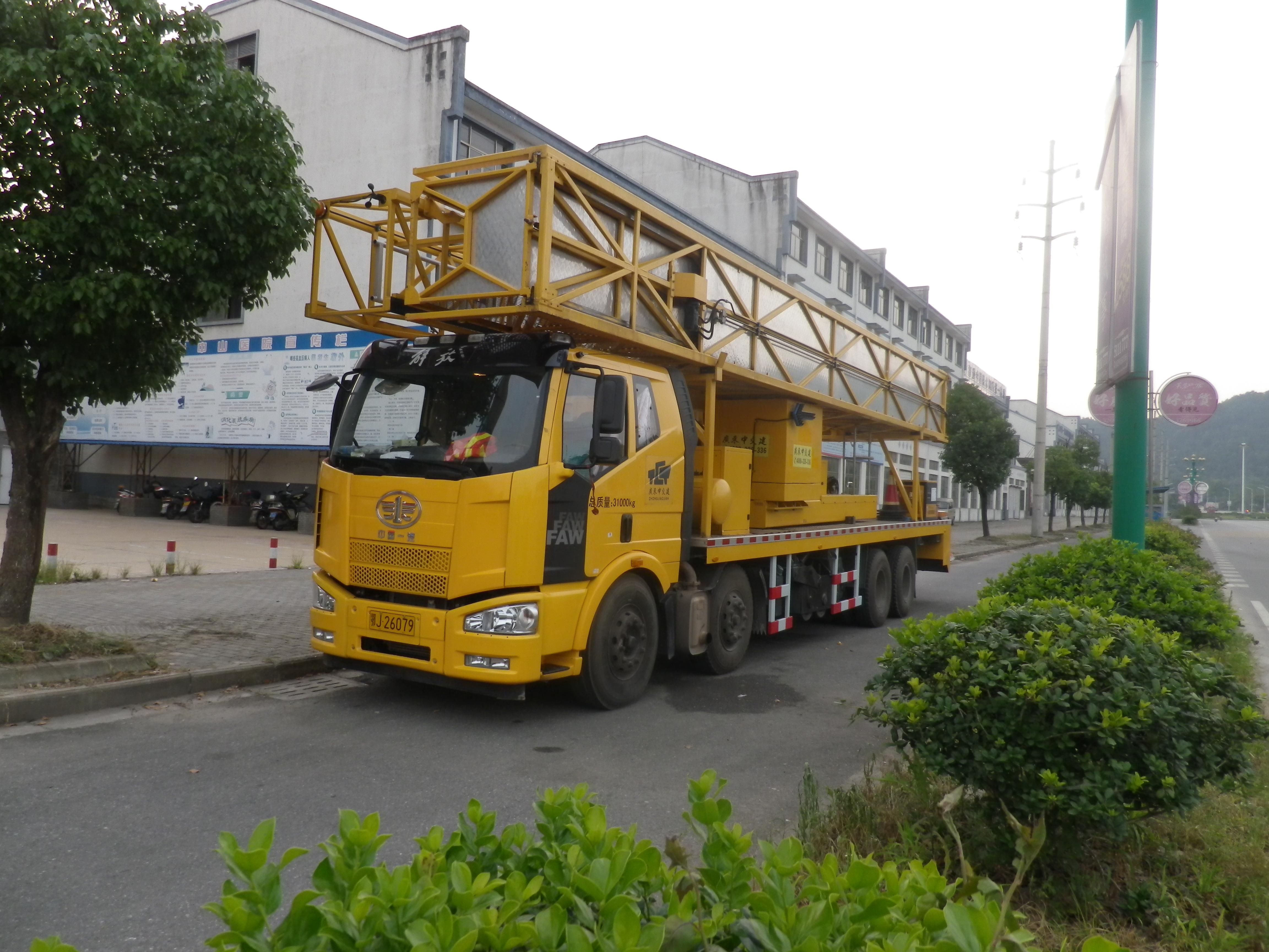 桁架式桥检车21米